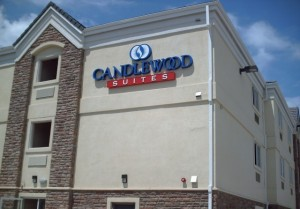 Candlewood Suites - Pan Channel Letters w/ LEDs