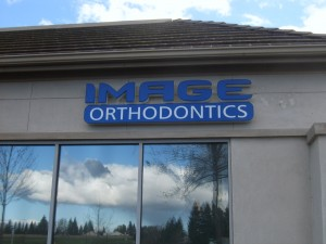 Image Orthodontics - Front and Halo Lit Pan Channel Letters
