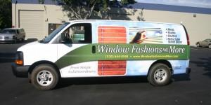 Window Fashions - Vehicle Wrap